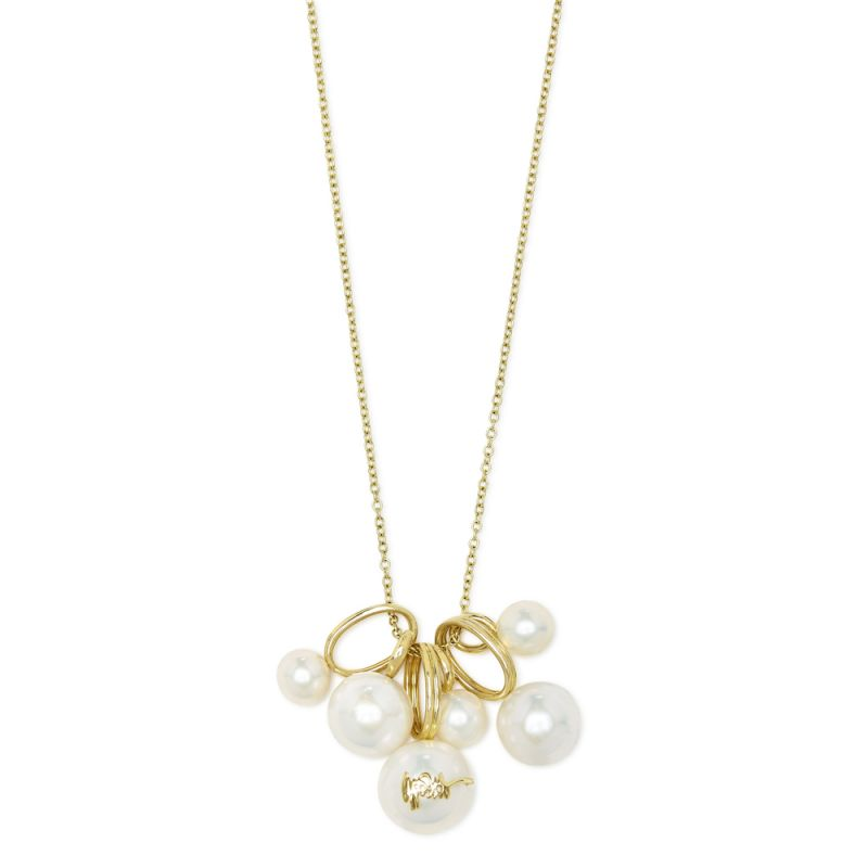 IPPOLITA Nova 18K Yellow Gold Pearl Cluster Necklace