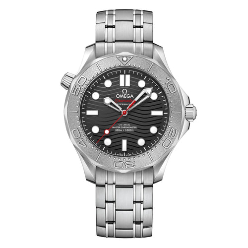 OMEGA Seamaster Diver 300M Co-Axial Master Chronometer 42mm with Bracelet and Titanium Bezel