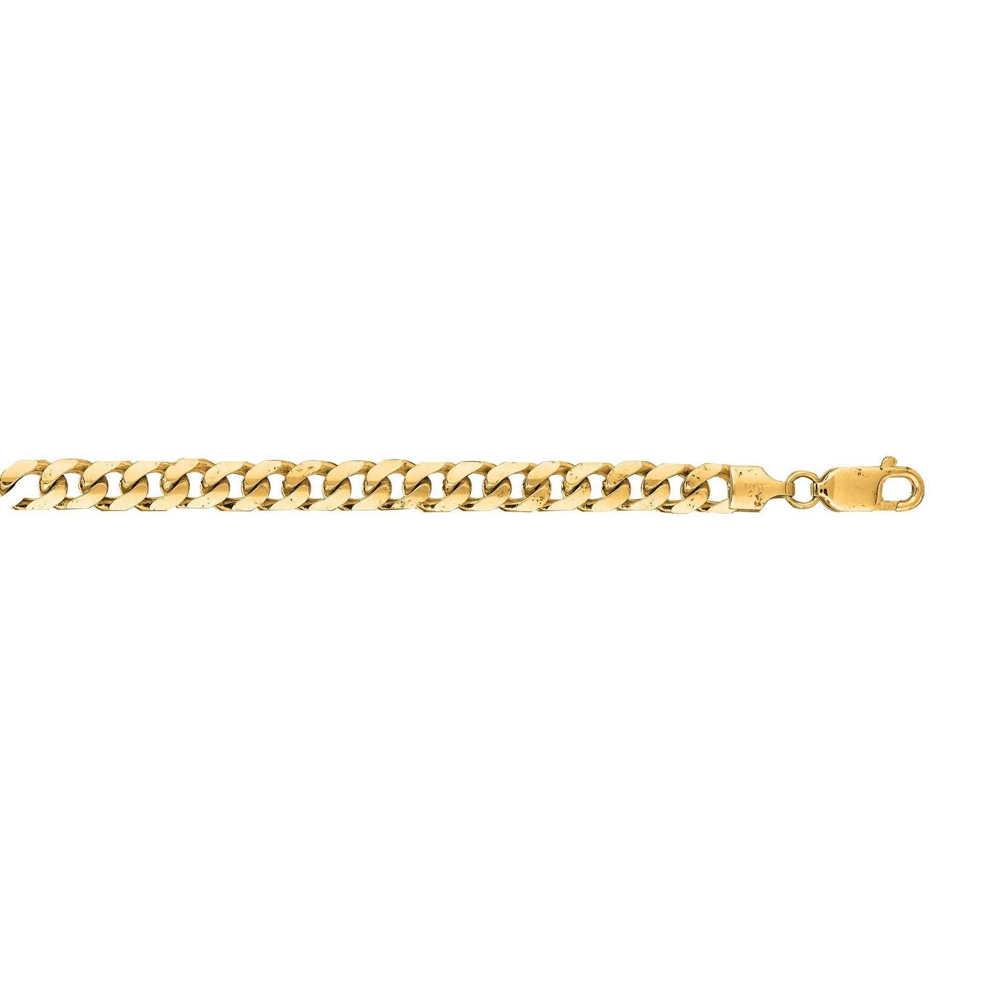 Sabel Men's 14K Yellow Gold Miami Cuban Link Bracelet with Lobster Clasp