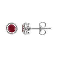 Sabel Collection Birthstone Stud Earrings