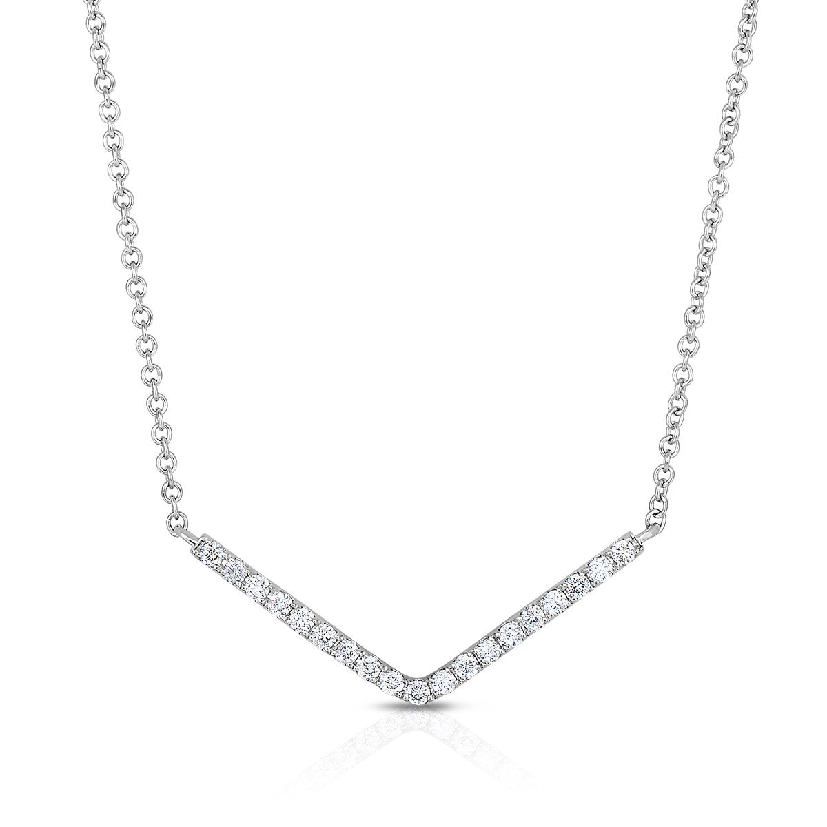Sabel Collection 14K White Gold Diamond