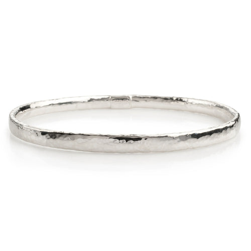 IPPOLITA Classico Sterling Silver Flat Bangle