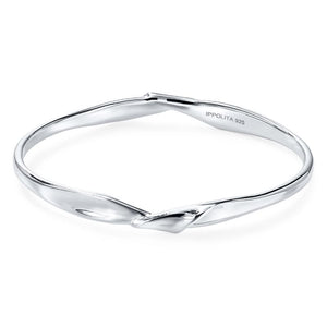 IPPOLITA Classico Sterling Silver Twisted Ribbon Bangle