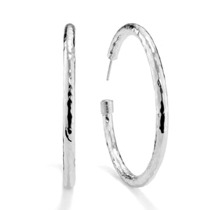 IPPOLITA Classico Sterling Silver #4 Hoop Earrings