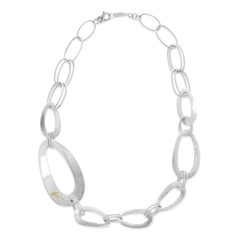 IPPOLITA Cherish Sterling Silver Link Collar Necklace