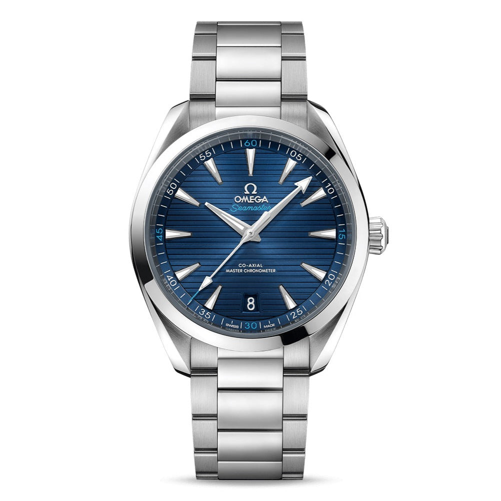 OMEGA Seamaster Aqua Terra 150M Master Co-Axial Chronometer 41mm with Blue Dial