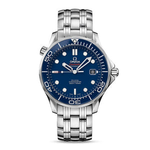 Omega Seamaster Diver 300M Co-Axial 41mm with Blue Dial