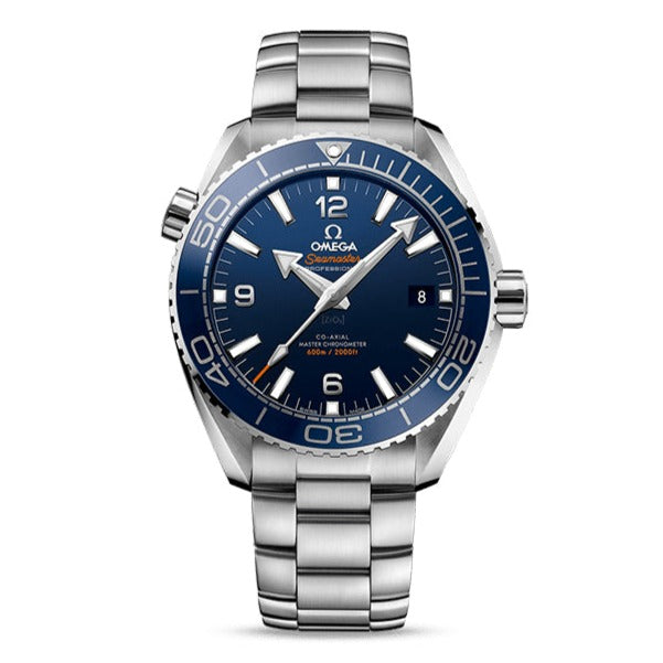OMEGA Seamaster Planet Ocean 600M OMEGA Co-Axial Master Chronometer 43.5mm with Blue Dial