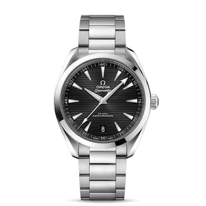 Omega Seamaster Aqua Terra 150M Co-Axial Master Chronometer 41mm with Black Dial