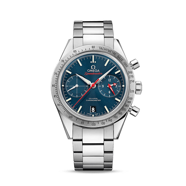 Omega Speedmaster '57 Co-Axial Chronograph 41.5mm with Blue Dial
