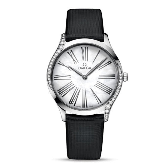 Omega De Ville Trésor Quartz  36mm with Black Fabric Strap