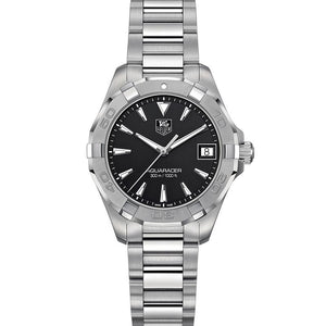 TAG Heuer Ladies' Aquaracer 32mm Stainless Steel Black Dial Watch