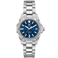 TAG Heuer Aquaracer Ladies' Quartz Movement Blue Dial Watch