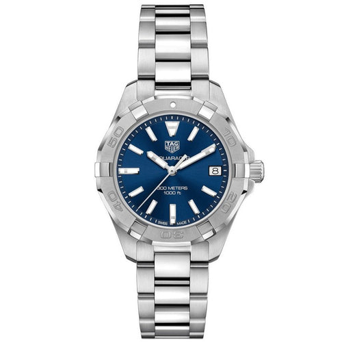 TAG Heuer Ladies' Aquaracer Quartz Movement Blue Dial Watch