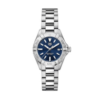 TAG Heuer Aquaracer Ladies' Quartz Movement Blue Sunray Dial Watch