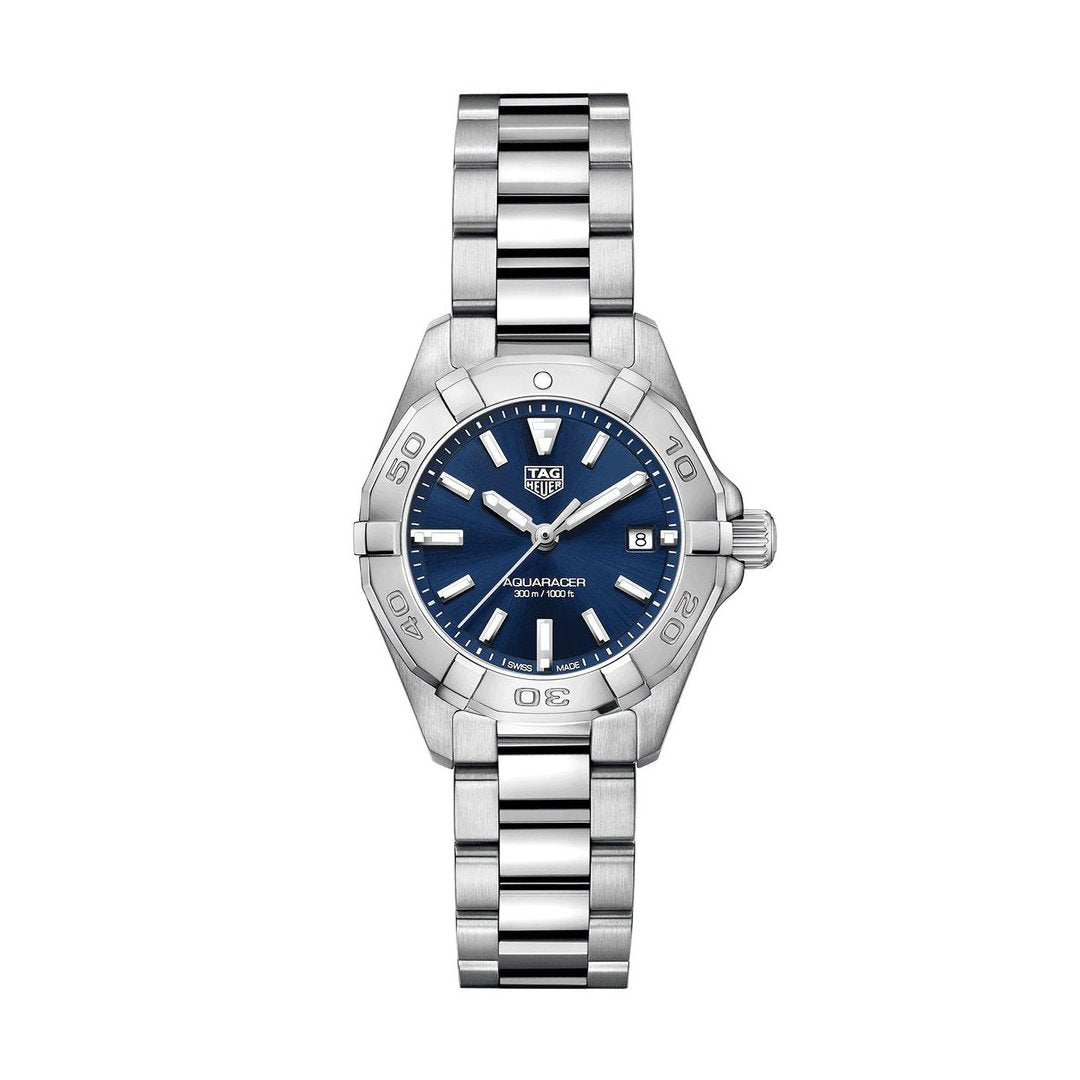 TAG Heuer Ladies' Aquaracer Quartz Movement Blue Sunray Dial Watch