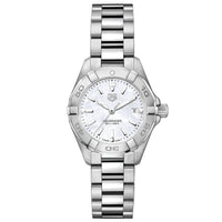 TAG Heuer Ladies' Aquaracer Quartz Movement Mother-of-Pearl Dial Watch