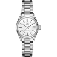 TAG Heuer Ladies' Carrera Automatic Calibre 9 White Mother-of-Pearl Dial Watch