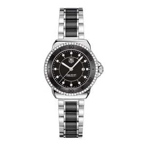 TAG Heuer Ladies' Formula 1 Black Ceramic and Dial Watch with Diamonds