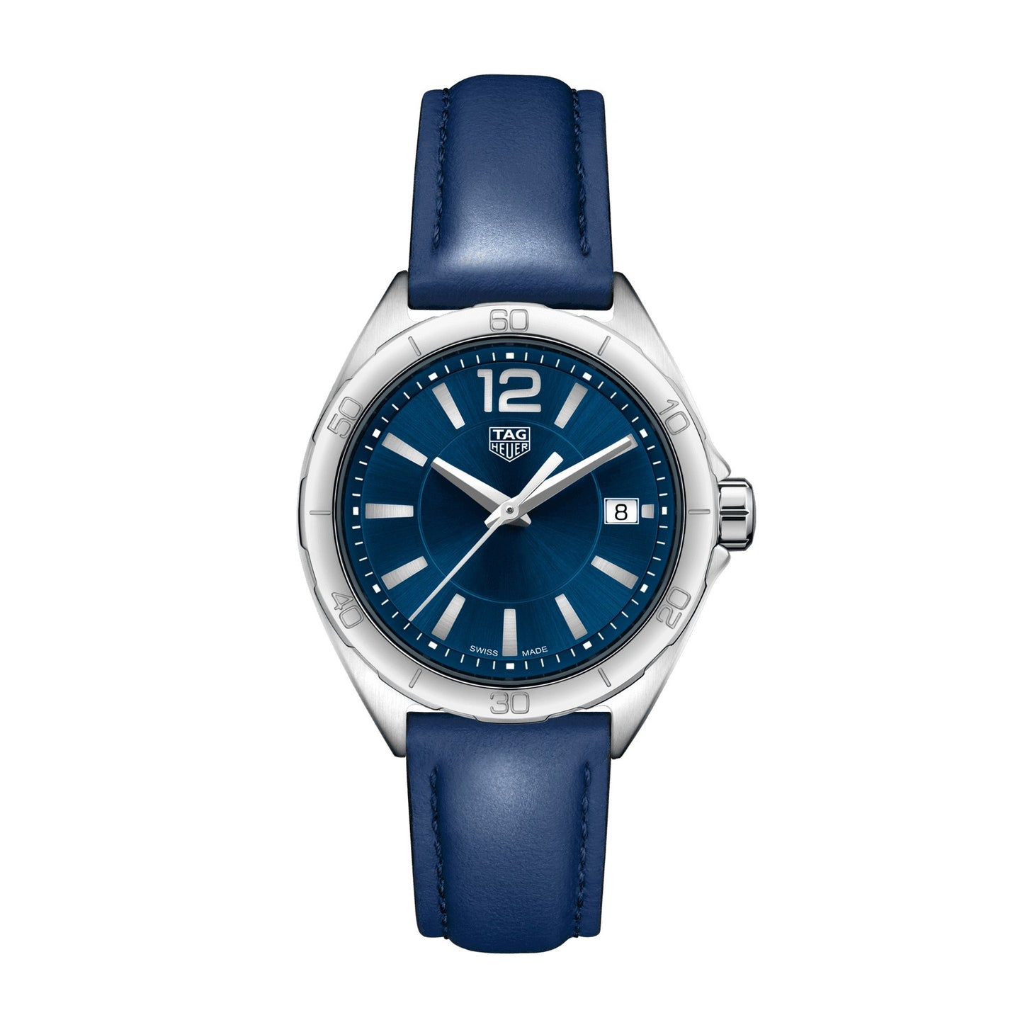 TAG Heuer Ladies' Formula 1 Blue Dial Watch with Blue Calfskin Strap