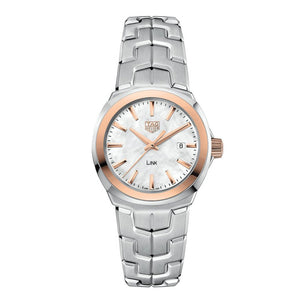 TAG Heuer Ladies' Link Quartz Movement Mother-of-Pearl Dial Watch
