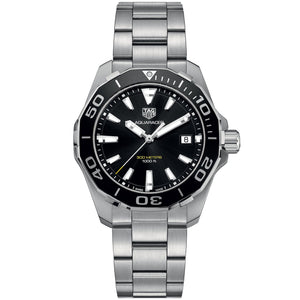 TAG Heuer Men's Aquaracer 40mm Black Dial Watch