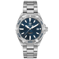 TAG Heuer Men's Aquaracer 41mm Quartz Movement Blue Dial Watch