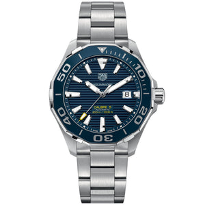 TAG Heuer Men's Aquaracer Automatic Movement Blue Dial Watch