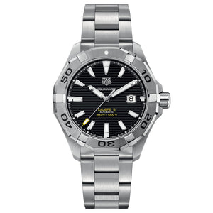 TAG Heuer Men's Aquaracer Calibre 5 Automatic Movement Black Dial Watch
