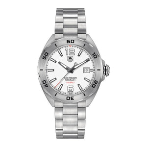 TAG Heuer Men's Formula 1 Automatic Calibre 5 White Dial Watch