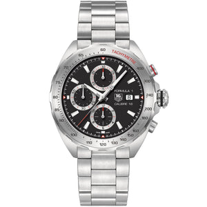 TAG Heuer Men's Formula 1 Automatic Chronograph Calibre 16 Black Dial Watch