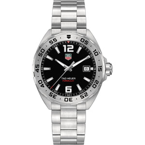 TAG Heuer Men's Formula 1 Quartz Movement Black Dial Watch