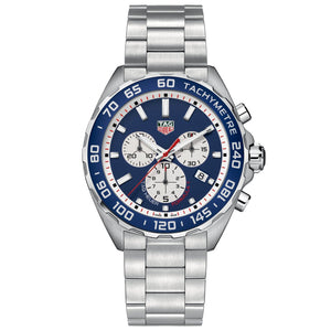 TAG Heuer Men's Formula 1 Red Bull Chronograph Movement Blue Dial Watch