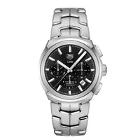 TAG Heuer Men's Link Calibre 17 Automatic Black Dial Watch