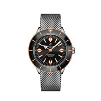 Breitling Superocean Heritage '57 Steel & 18K Red Gold with Black Dial and Steel Bracelet - Available for Pre-Order