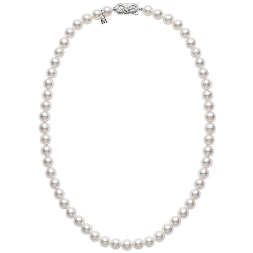 "Mikimoto Everyday Essentials 6.5x6mm A1 Akoya Pearl 18"" Necklace"