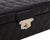 Load image into Gallery viewer, Wolf 1834 Small Black Quilted Leather Jewelry Box