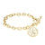 Load image into Gallery viewer, Fink's 20mm Classic Bordered Monogram Toggle Bracelet