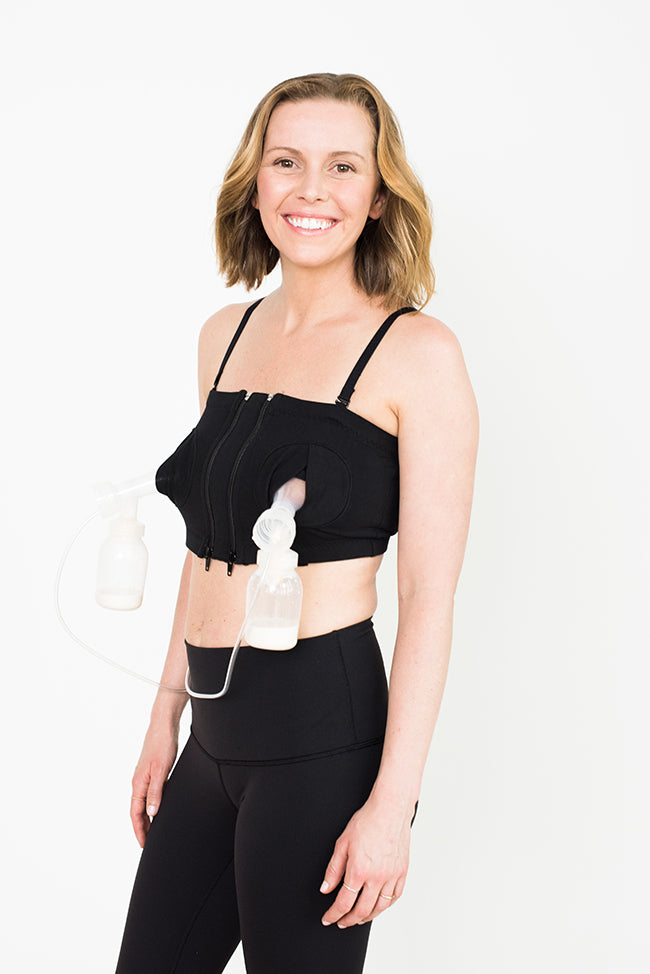 Hands Free Pumping Bra