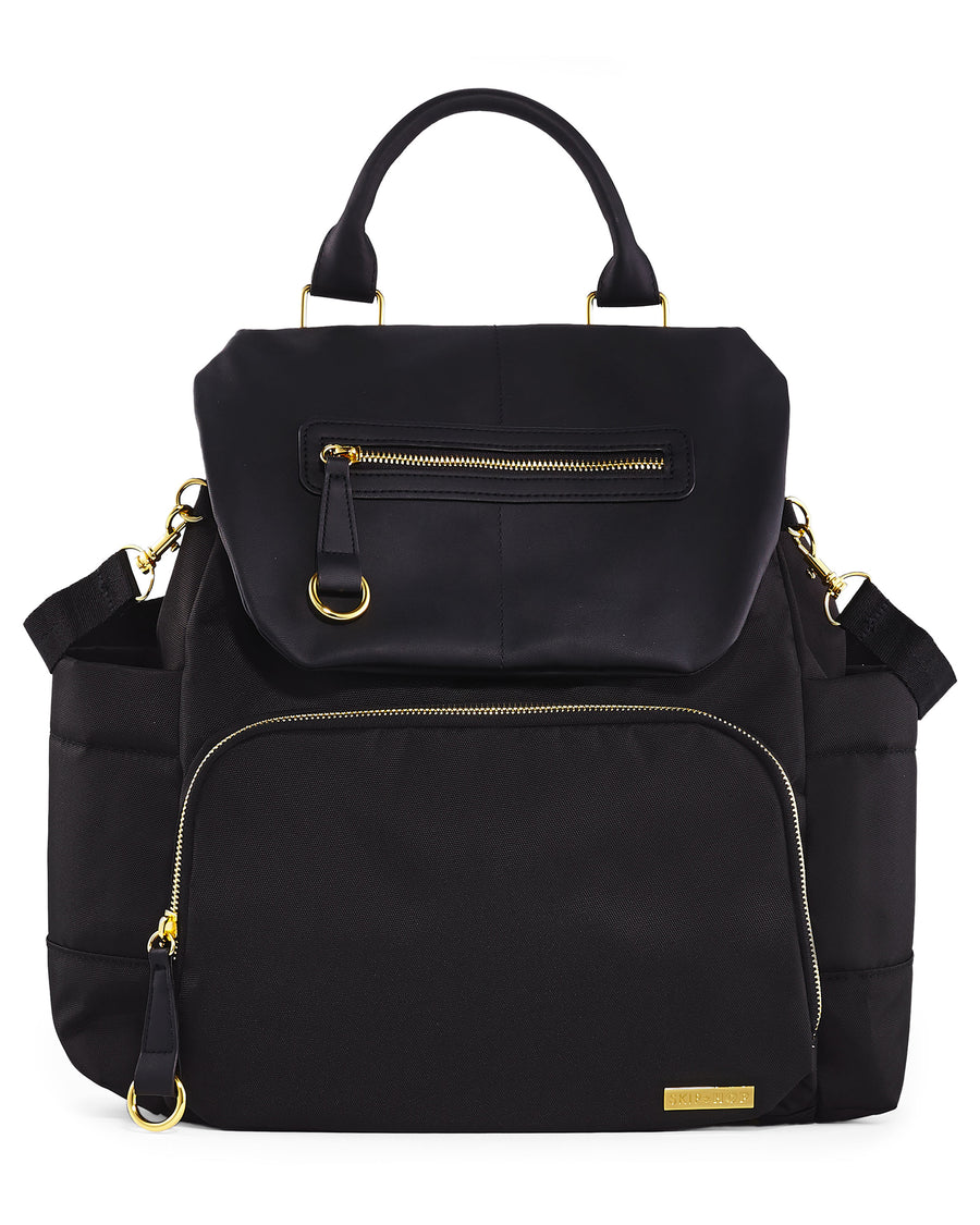 Chelsea Downtown Chic Diaper Backpack (Black)