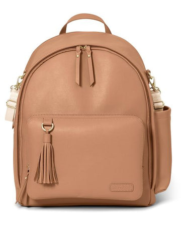 Greenwich Simple Chic Backpack (Caramel)