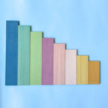 Pastel Stepped Blocks
