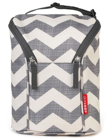 Double Bottle Bag (Chevron)