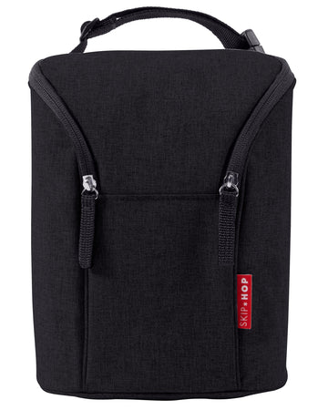 Double Bottle Bag (Black)