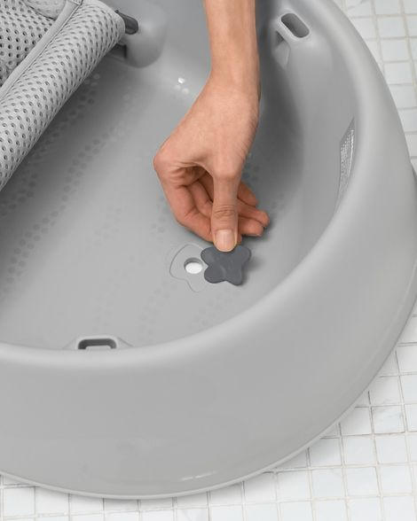 Moby Smart Sling 3-Stage Tub (Grey)