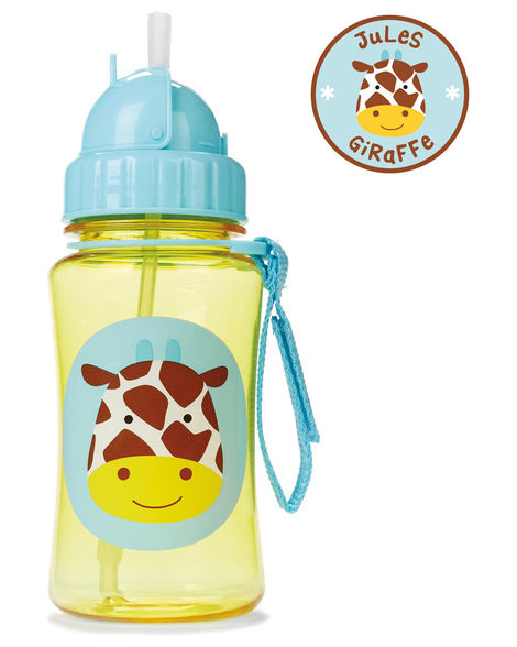 Zoo Straw Bottle (Giraffe)