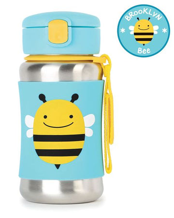 Zoo Insulated Stainless Steel Bottle (Bee)