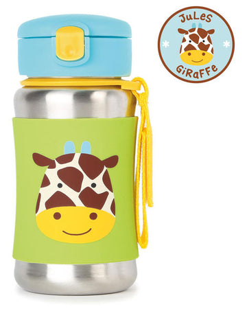 Zoo Insulated Stainless Steel Bottle (Giraffe)