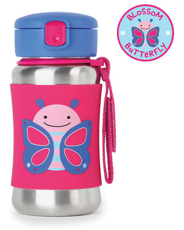 Zoo Insulated Stainless Steel Bottle (Butterfly)