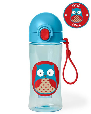 Zoo Lock Top Sport Bottle (Owl)